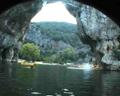 Descente de l'Ardèche en canoé